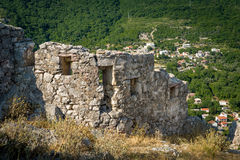 Haj-Nehaj ancient fortress tower Stock Photos