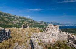 Haj-Nehaj fortecy ruiny Obraz Stock