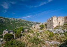 Haj-Nehaj ruinierte alte Festung stockfotografie