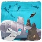 hajar vektor illustrationer