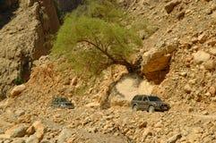 Hajar Mountains Stock Photo