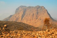 Hajar Mountains Royalty Free Stock Photo