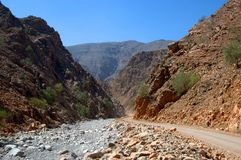 Hajar Mountains Stock Images