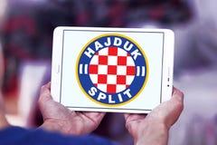 Hajduka futbolu klubu Rozszczepiony logo Fotografia Royalty Free