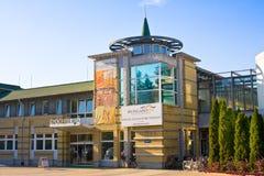 HAJDUSZOBOSZLO, HUNGARY - NOVEMBER 2,2015: Hungarospa -the old thermal bath on April 6, 2013 in Hajduszoboszlo, Hungary Stock Images