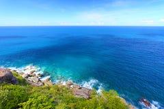 Hajfjärdnationalpark Jungfruöarna Fotografering för Bildbyråer