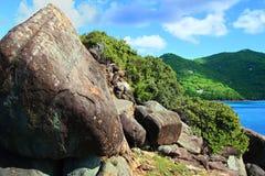 Hajfjärdnationalpark Tortola Arkivbilder