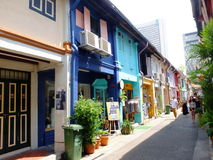 Haji Lane Royalty Free Stock Photography