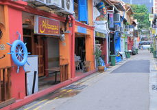 Haji Lane Singapore Royalty Free Stock Photos
