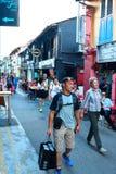 Haji pas ruchu Singapur Fotografia Stock