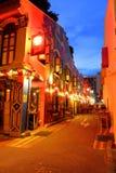 Hajigränd Singapore Arkivfoto