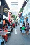 Hajigränd Singapore Arkivbilder