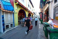 Hajigränd Singapore Fotografering för Bildbyråer