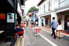 Hajigränd Singapore Royaltyfria Bilder