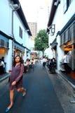 Hajigränd Singapore Arkivbild