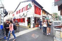 Hajigränd Singapore Royaltyfri Fotografi