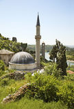 Hajji Alija mosque in Pocitelj. Bosnia and Herzegovina Stock Images