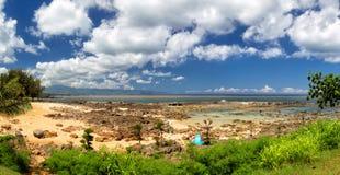 Hajliten vik, Oahu Royaltyfri Fotografi