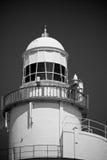 hak do latarni morskiej Zdjęcia Royalty Free