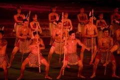 haka maori Immagine Stock Libera da Diritti