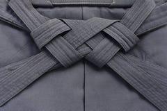 Hakama, Japanse eenvormige vechtsporten Royalty-vrije Stock Fotografie