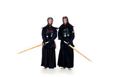 Hakama sword Royalty Free Stock Image