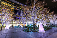 Hakata Station and JR Hakata City Royalty Free Stock Photos