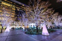 Hakatapost en de Stad van JR Hakata Royalty-vrije Stock Foto's