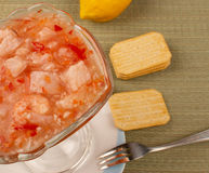 Hake ceviche Royalty Free Stock Photo