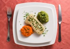 Hake filet Royalty Free Stock Photography