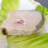 Hake slice Stock Images