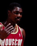 Hakeem Olajawon Houston Rockets Royaltyfri Foto