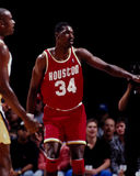 Hakeem Olajawon Houston Rockets Royaltyfri Fotografi