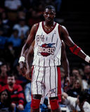 Hakeem Olajawon, Houston Rockets Royalty Free Stock Photos