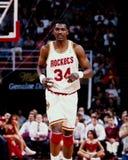 Hakeem Olajawon, Houston Rockets Stock Photos