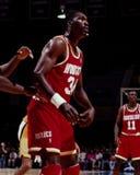 Hakeem Olajuwon, Houston Rockets Imagem de Stock