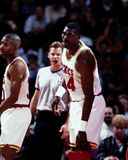 Hakeem Olajuwon, Houston Rockets Imagens de Stock