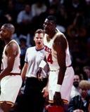Hakeem Olajuwon, Houston Rockets Stock Images