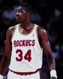 Hakeem Olajuwon, Houston Rockets Royalty Free Stock Photography