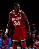 Hakeem Olajuwon, Houston Rockets Royalty Free Stock Photos