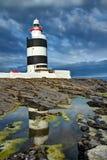 Haken-Leuchtturm, Irland Stockfotos