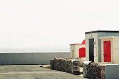 Haken-Leuchtturmaußengebäude Lizenzfreies Stockfoto