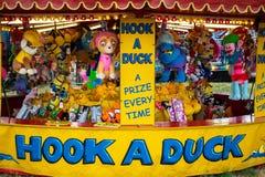 Haken Sie eine Ente Stockbilder