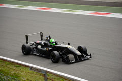 Hakim Benferhat Dallara F312 Formula car test at Monza Stock Photos