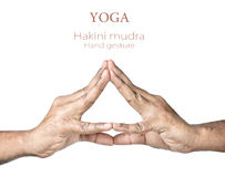 Hakini mudra Stock Photo