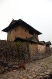 Hakka earth building Stock Image