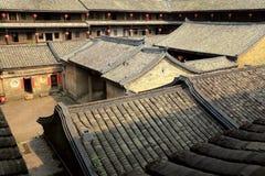The hakka enclosed house in china Royalty Free Stock Photography