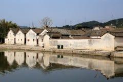 The hakka enclosed house in china Royalty Free Stock Photos