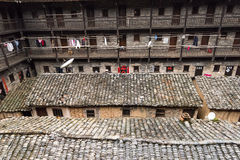 Hakka Enclosed located in China Royalty Free Stock Image