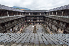 Hakka Enclosed located in China Royalty Free Stock Images